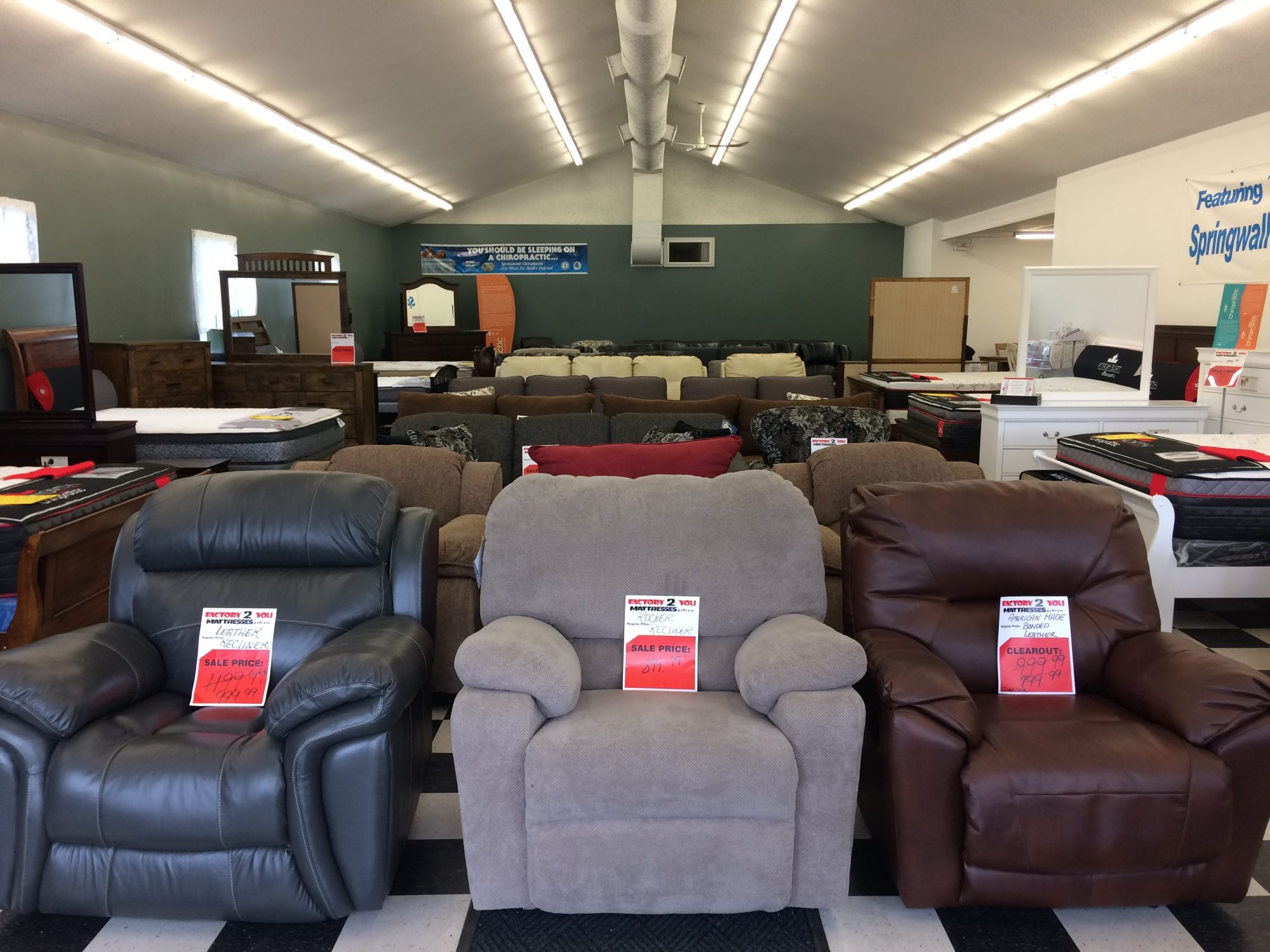 Mattresses And Home Furnishings Best Prices Factory 2 You Mattresses